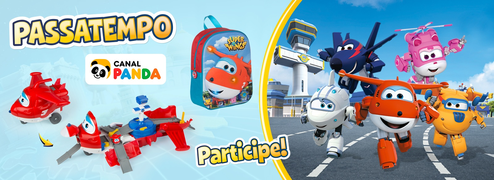 Super Wings Concurso