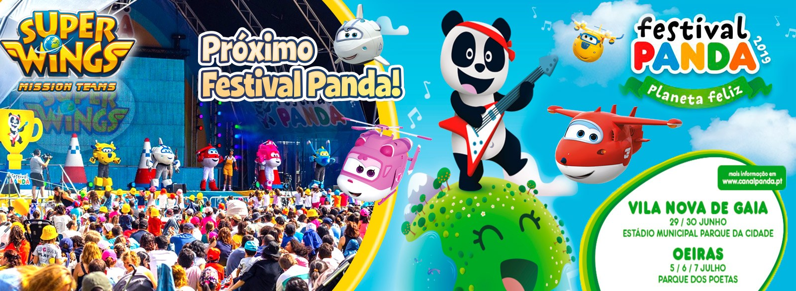 Super Wings Festival Panda