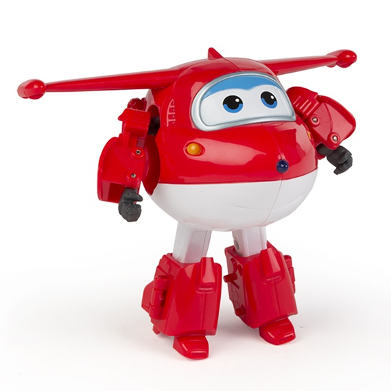 Figura Transformável Jett Super Wings