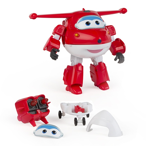 Figura Transformável N Talk Jett Super Wings