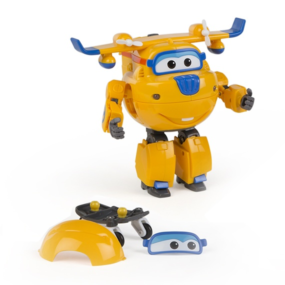 Figura Transformável N Talk Donnie Super Wings