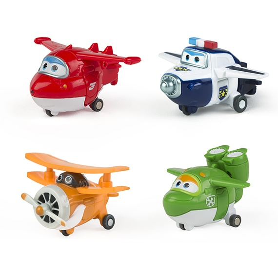 Pack 1 - Figuras Transformáveis Super Wings