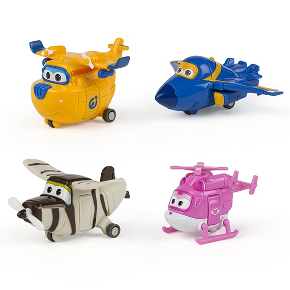 Pack 2 - Figuras Transformáveis Super Wings