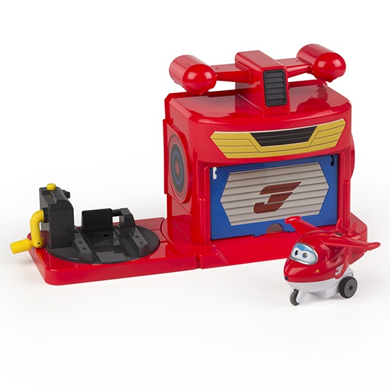 Hangar - A pista de Jett Super Wings