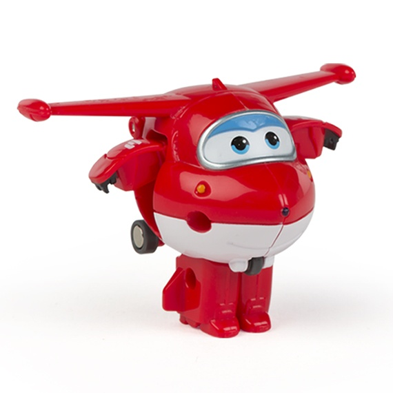 Figura Mini Transformável Jett Super Wings