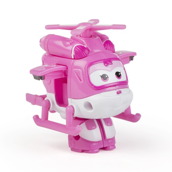 Figura Mini Transformável Dizzy Super Wings