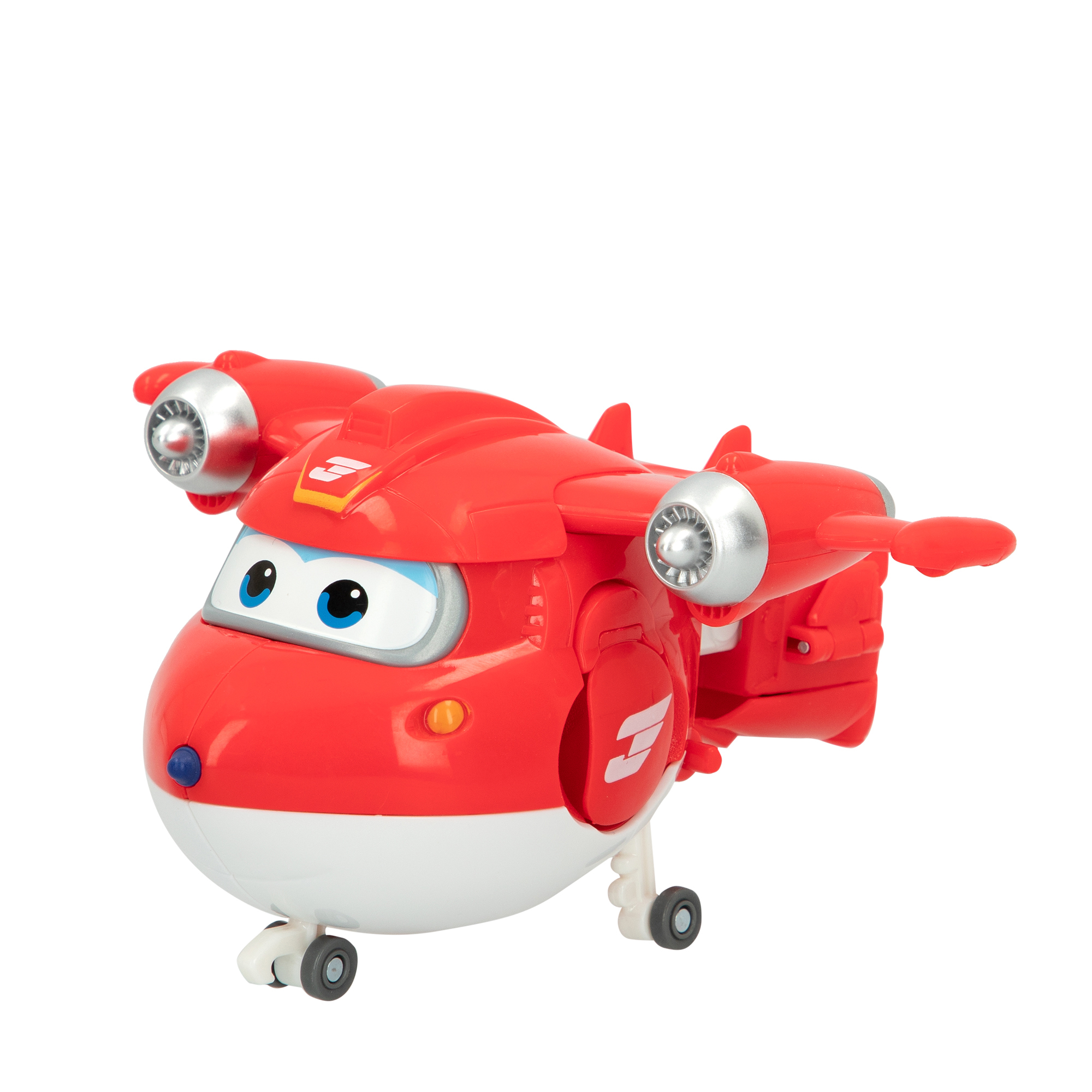 Juguete Super Wings Jett transformable