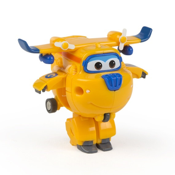 Figura Mini Transformável Donnie Super Wings