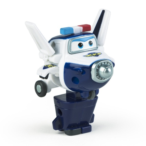 Figura Mini Transformável Paul Super Wings