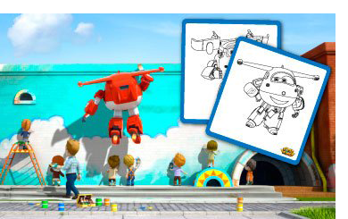 Imprime Super Wings