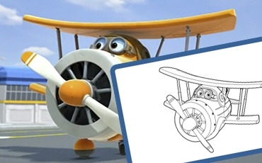 Manualidades Super Wings Albert