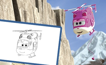 Manualidades Super Wings Dizzy