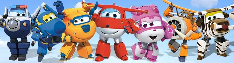 Personagens Super Wings