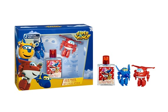 Set EDT 50ML+ 2  Figurinhas Super Wings