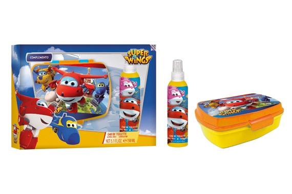Set EDT 150 ML + Lancheira Super Wings