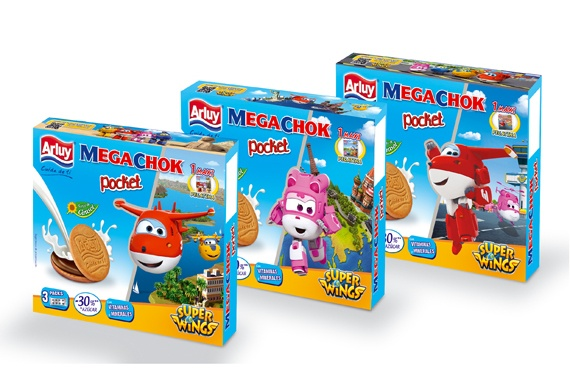 Megachok Pocket 200g Super Wings