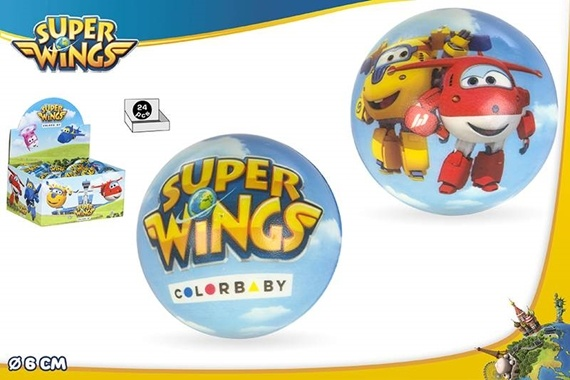 PELOTA ESPUMA 6 CM - SUPER WINGS Super Wings