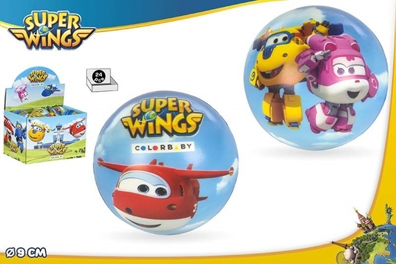 BOLA ESPUMA 9 CM  - SUPER WINGS Super Wings