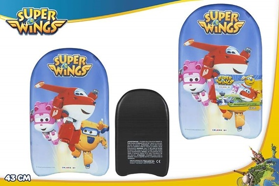 BODYBOARD 26X24 CM - SUPER WINGS Super Wings