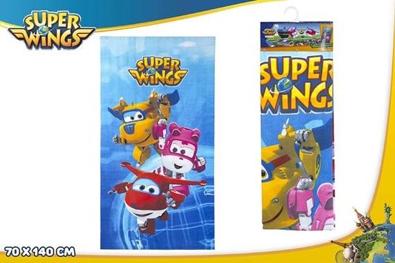 TOALHA MICROFIBRA 70X140 CM Super Wings