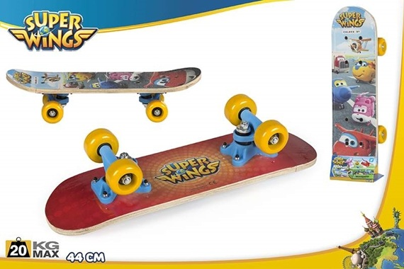 SKATEBOARD 40CM - Super Wings Super Wings