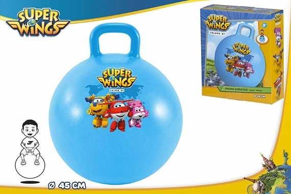 PELOTA SALTARINA 45CM - SUPER WINGS Super Wings