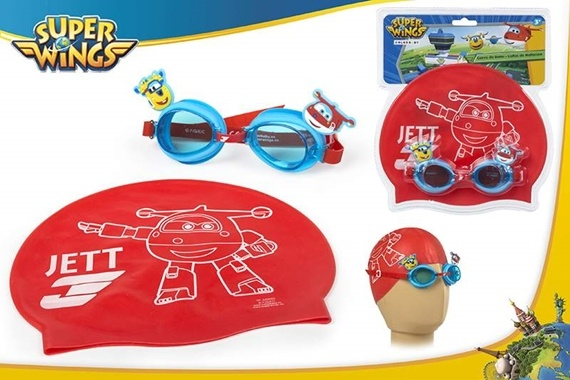 PACK ÓCULOS + TOUCA INF Super Wings