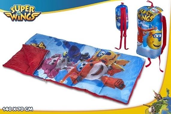 SACO DE DORMIR 140X70CM - SUPER WINGS Super Wings