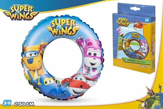 RUEDA HINCHABLE D50 CM - SUPER Super Wings