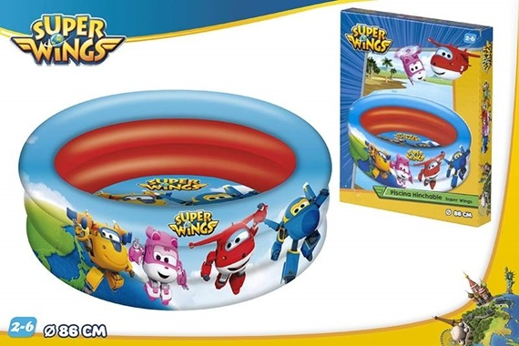 PISCINA 3 AROS D86 CM - SUPERW Super Wings