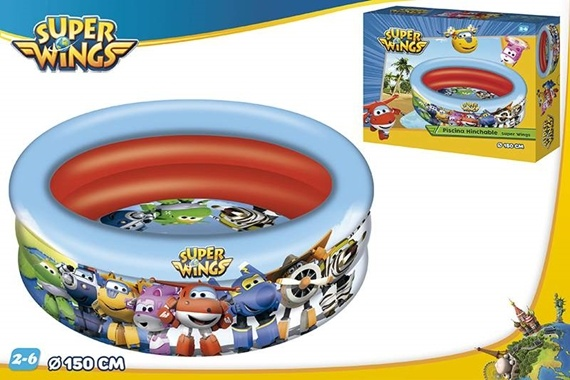 PISCINA 3 AROS D150 CM - SUPER WINGS Super Wings