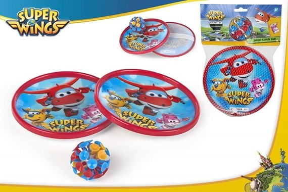 JOGO CATCH BALL VENTOSAS - SUPER WINGS