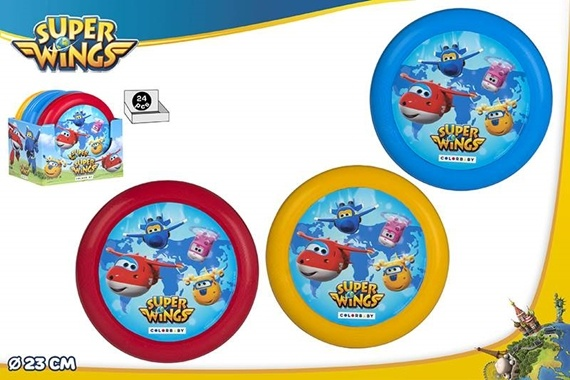 DISCO VOADOR D23 CM - SUPER WINGS Super Wings