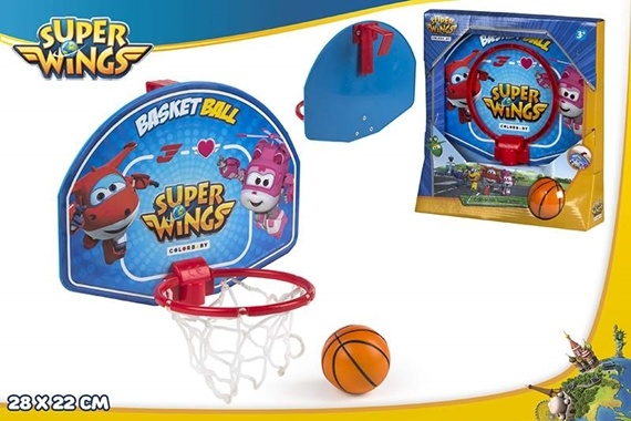 JOGO MINI BASKET 28X22 CM - SUPER WINGS