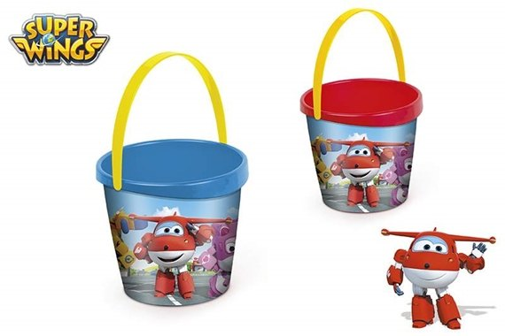 BALDE DE PRAIA D18CM - SUPER WINGS Super Wings