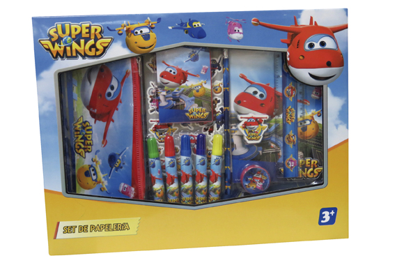 Set de Papelería 20 pcs. SuperWings Super Wings