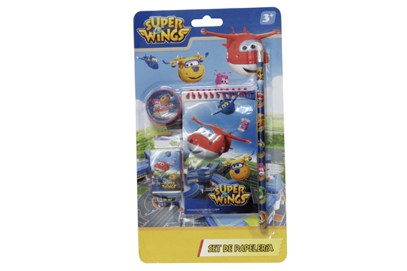 Set de Papelería 4 pcs SuperWings Super Wings