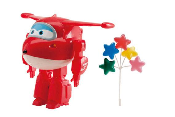 Kit para Bolos Super Wings - Jett Super Wings