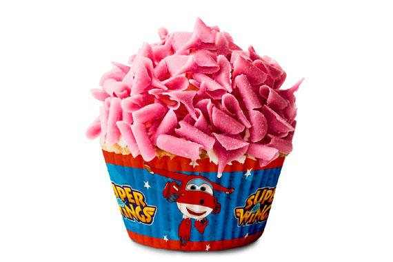 Cápsulas Cupcake Super Wings Super Wings