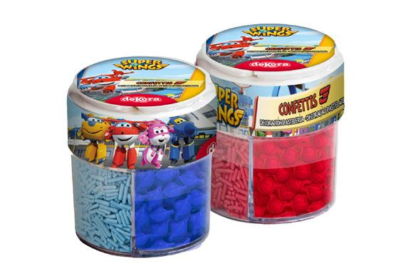 CONFETI SUPER WINGS
