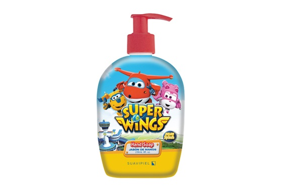 Super Wings Sabão para as Mãos 236ml Super Wings
