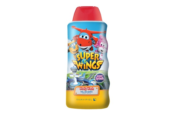 Súper Wings  Gel de Baño 355ml Super Wings