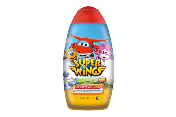Super Wings Champô e Condicionador  296ml Super Wings