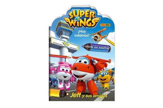 Hoje voamos! Jett e os seus amigos Super Wings
