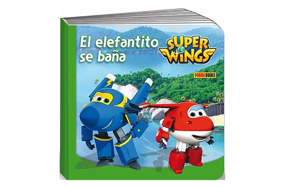 EL ELEFANTITO SE BAÑA Super Wings