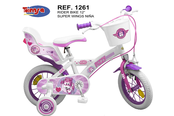 "BICICLETA 12"" SUPER WINGS NIÑA Super Wings"