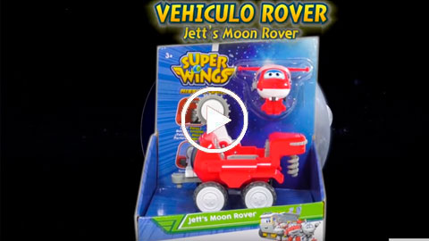 Unboxing Super Wings Vehículo Rover Jett | COLORBABY